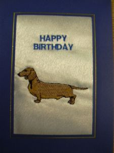 HAPPY BIRTHDAY - Dachshund Dog - Cards